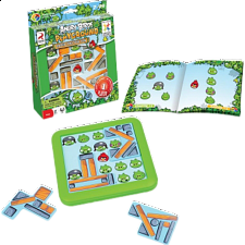 Angry Birds Playground - Under Construction - Sliding Pieces Puzzles