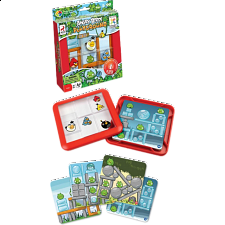 Angry Birds Playground - On Top - Sliding Pieces Puzzles