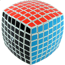 V-CUBE 7 (7x7x7): White - Rubik's Cube & Others