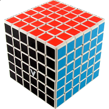 V-CUBE 6 (6x6x6): White - Rubik's Cube & Others