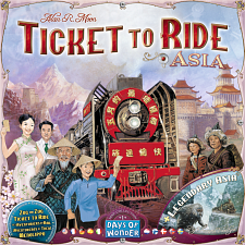 Ticket to Ride: Asia - Games & Toys