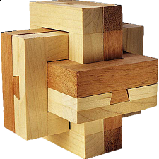 Dovetail Burr - Other Wood Puzzles