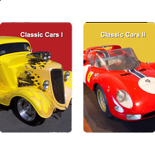 Playing Cards - Classic Cars - Card Games