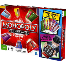 Monopoly: Electronic Banking - 6 Player Edition - Strategy Games