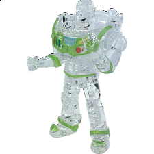 3D Crystal Puzzle - Buzz Lightyear - Plastic Interlocking Puzzles