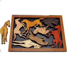 Pferderennen - Other Wood Puzzles