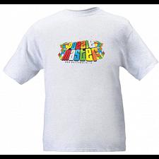 Train Your Brain - Ash Grey - T-Shirt -