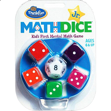 Math Dice Jr. - Games & Toys