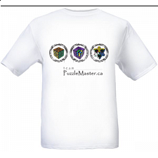 Team Puzzle Master - White - T-Shirt -