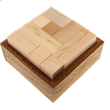 Pack Six - Wood Puzzles