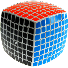 V-CUBE 8 (8x8x8): White - Rubik's Cube & Others