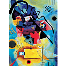 Deluxe Jigsaw - Kandinsky - Yellow-Red-Blue - Search Results
