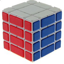 CT 4x4x4 B334 Bandage Cube - White Body - Rubik's Cube & Others
