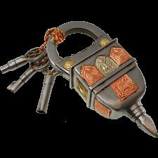 3 Key Puzzle Lock -