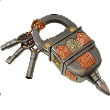 3 Key Puzzle Lock - Search Results