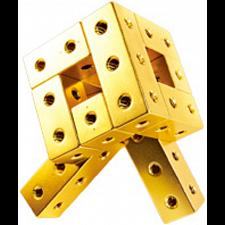 Fight Cube - 3x3x3 - Gold -