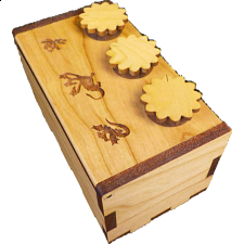 Dragon Secret Lock Box - Wooden Puzzle Boxes