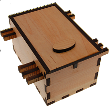 Pueblo Secret Lock Box - Other Wood Puzzles
