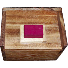 Melting Blocks Puzzle (Redstone Box) - Other Wood Puzzles