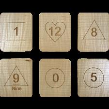 Wizard Math Magic Cards in Box -
