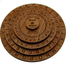 Word Wheel - Wood Puzzles