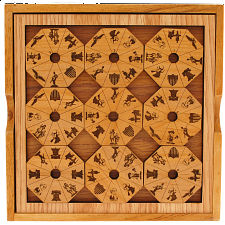 Liberty 1776 Puzzle with Cover - Wood Puzzles