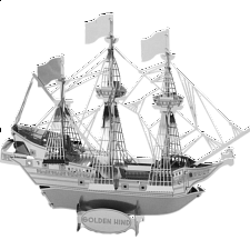 Metal Earth - Golden Hind - 3D
