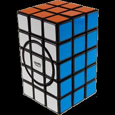 3x3x5 Semi-Super Cuboid (opposite circles) - Black Body -