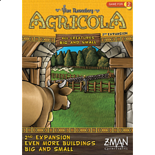 Agricola: All Creatures Big and Small  - 2nd Expansion - Strategy Games