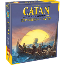 Catan: Explorers & Pirates - 5-6 Player Extension (5th Edition) - Board Games