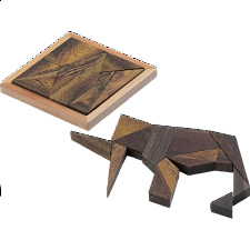 Elephant Puzzle - European Wood Puzzles