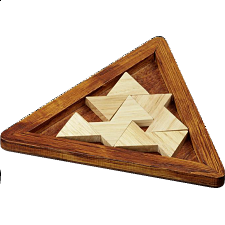 Tribar Puzzle - European Wood Puzzles