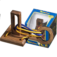 Tricky Ring - European Wood Puzzles