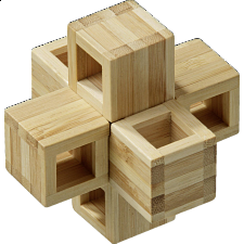 Cubycross - Wood Puzzles