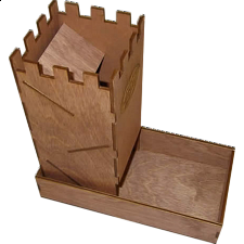 Dice Tower - Wood - Full Size