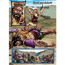 The Action Bible Jigsaw - David and Goliath - Search Results