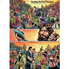The Action Bible Jigsaw - Feeding the Five Thousand - Search Results