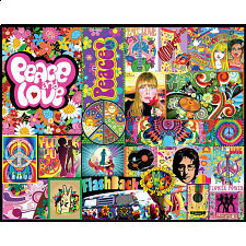 Peace & Love - 1000 Pieces
