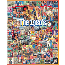 The 1980's - 1000 Pieces