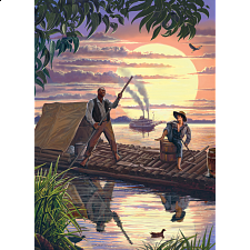 Huck Finn - 1000 Pieces