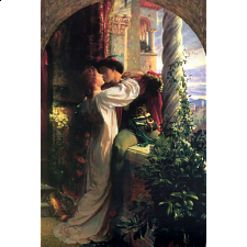 Romeo and Juliet - Classics Book Box Collectible - 1000 Pieces