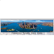 Panoramic: Freedom Tower, New York - Jigsaws