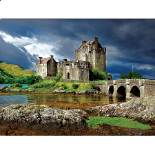 'Buffalo Games Majestic Castles: Eilean Donan - 750 Piece Jigsaw - 500-999 Pieces