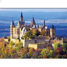 Majestic Castles: Hohenzollern Castle, Germany - Jigsaws
