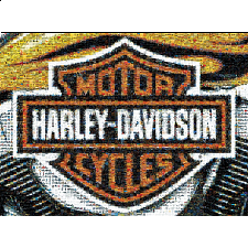 Photomosaic: Harley-Davidson - Photomosaics