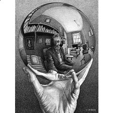M.C. Escher: Self Portrait
