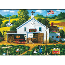 Charles Wysocki: Catchin' Bugs - 101-499 Pieces