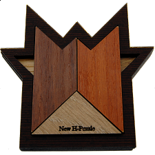 New H-Puzzle - European Wood Puzzles