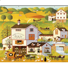 Charles Wysocki: Virginia's Nest - 101-499 Pieces