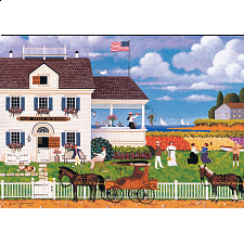 Charles Wysocki: Tea by the Sea - 101-499 Pieces